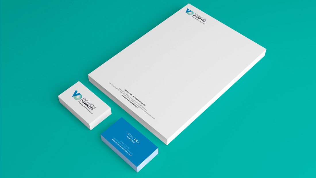 Business Cards and Type Sheets